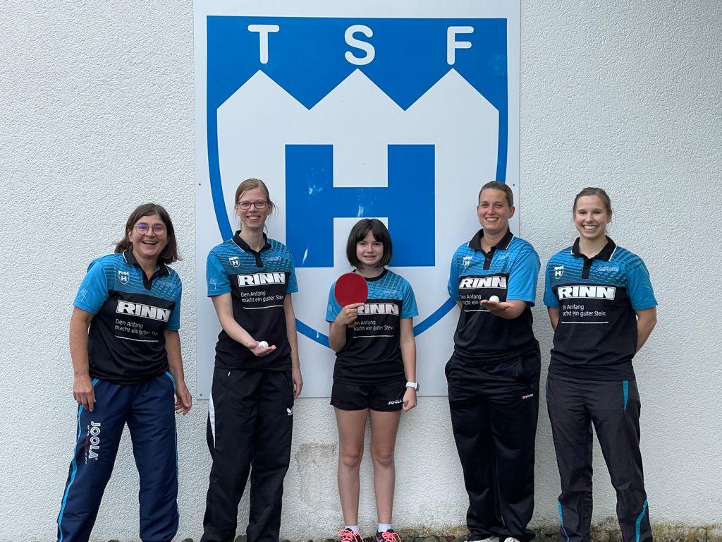 Teamfoto TSF Heuchelheim 1 Frauen